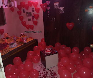 romantic room decoration for boyfriend