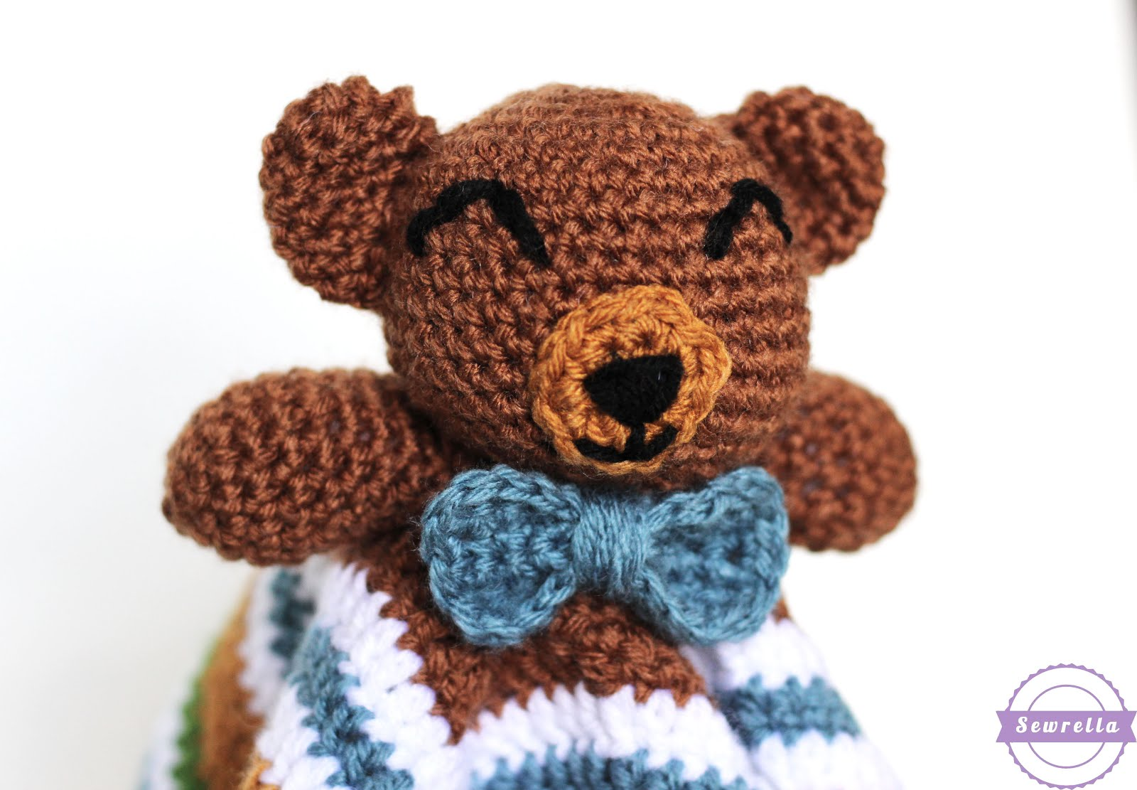 Bear Head Applique | Crochet bear, Crochet applique patterns free ... | 1111x1600