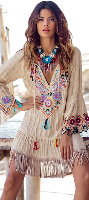 tendenza stile boho boho outfits coachella style fashion moda tendenze estate 2016 mariafelicia magno fashion blogger hippy outfits