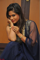 Shilpa Chakravarthy anchor and actress in anarkali dress  Exclusive 007.JPG