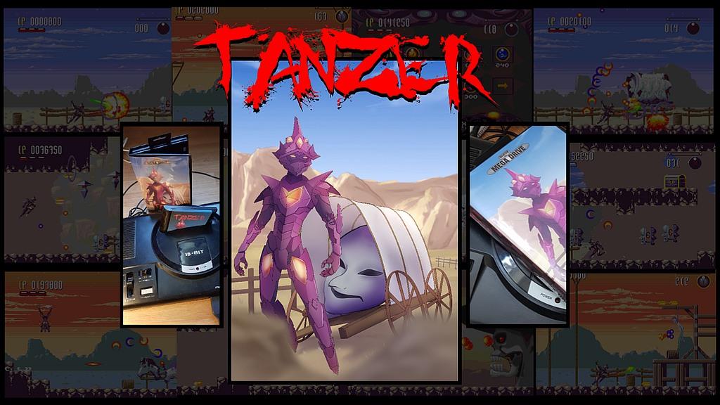 Indie Retro News: Tanzer: A new SEGA Mega Drive / Genesis Exclusive