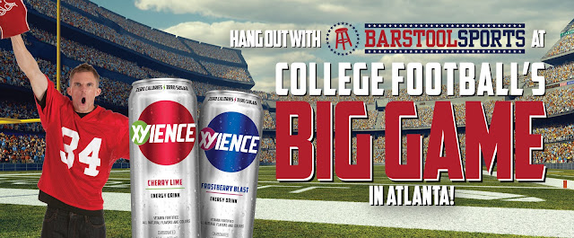Xyience Energy Drink Football Sweepstakes
