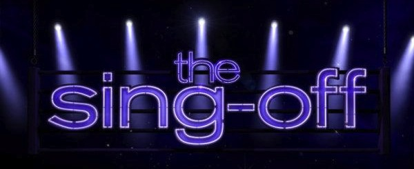 The Sing-Off logo in purple