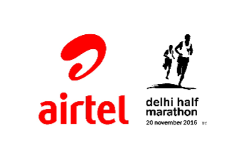 Over 34,000 participants for the ninth edition of the Airtel Delhi Half Marathon 2016