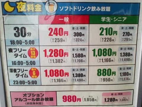 料金プラン2 おんちっち尾西店2回目
