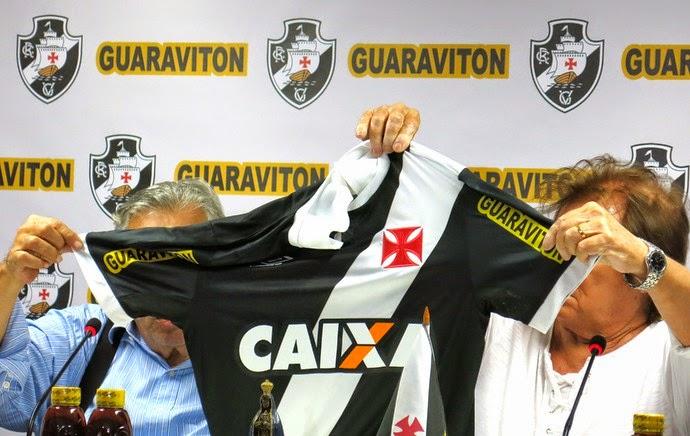 03eb33ea89 Vasco anuncia patrocinador que pagará cerca de R  15 milhões até o ...