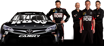Nascar race mom wix filters announces partnership with for Furniture row racing