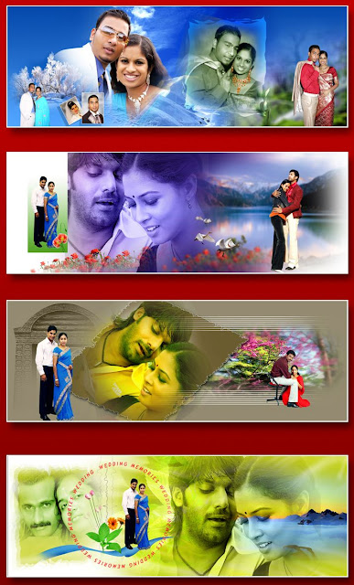 8x24 Indian Wedding Album Templates Design 3