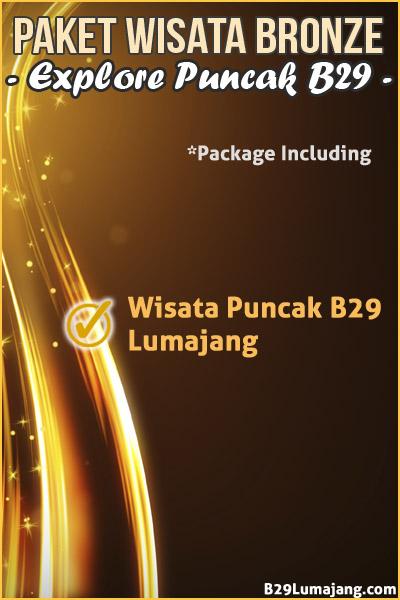 paket wisata b29 argosari
