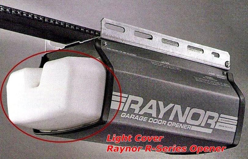 Garage Door Zone Blog Raynor R Series Opener Light Cover