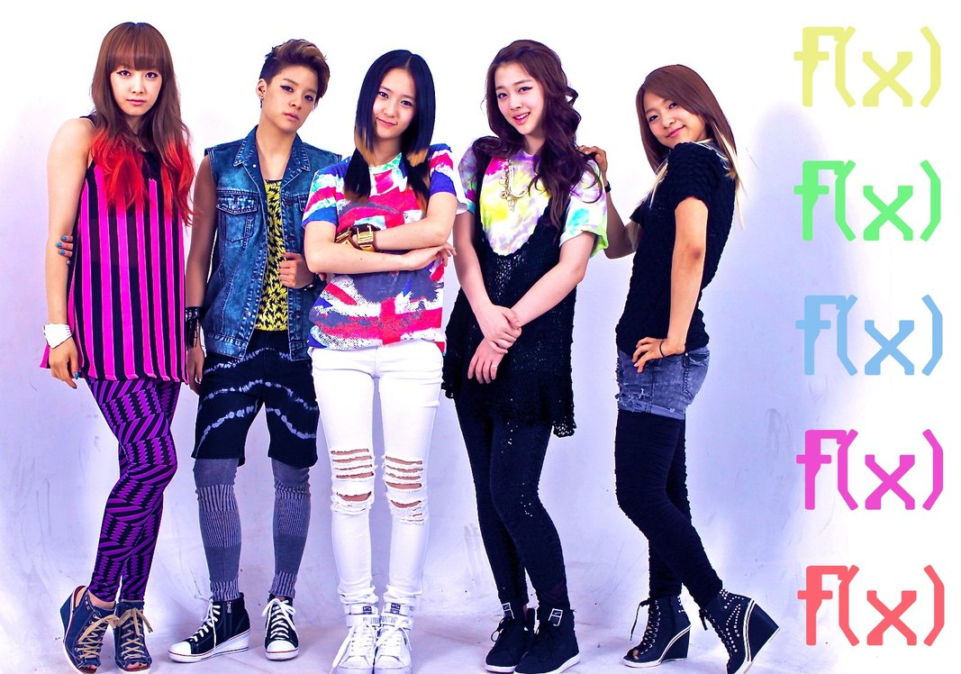top kpop music: f(x) : Member profile F(x) Members