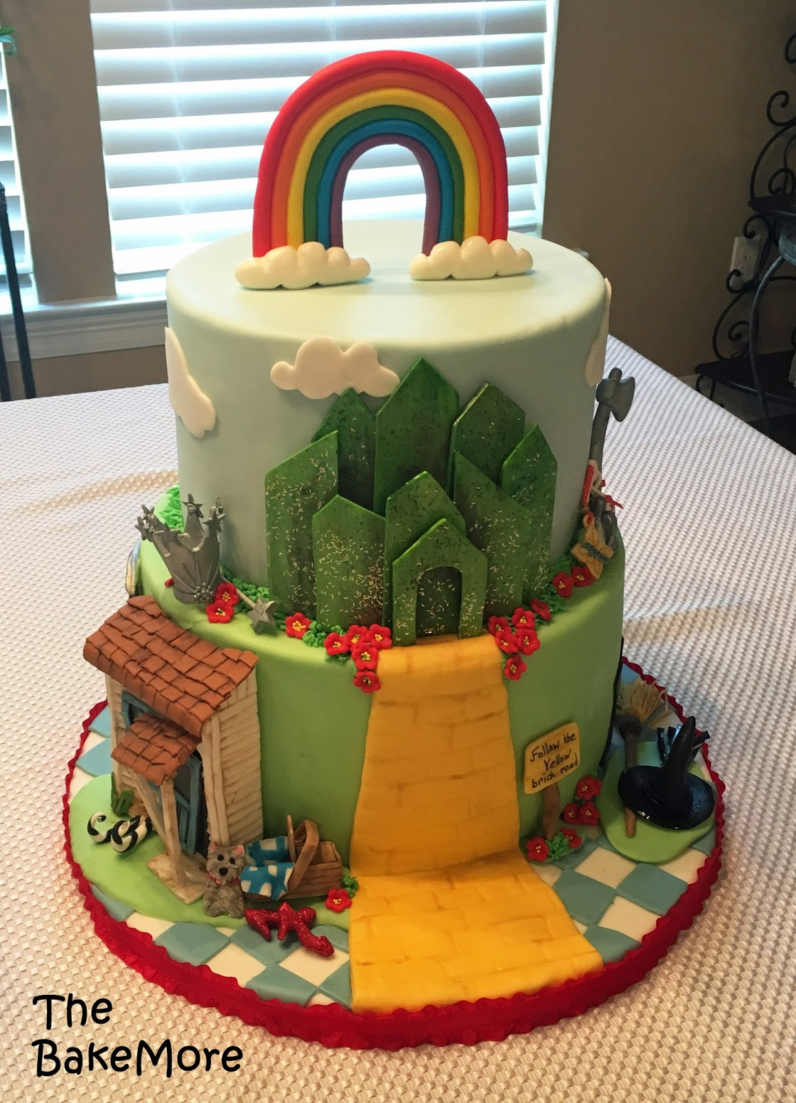 The Bake More Wizard Of Oz Themed Birthday Cake