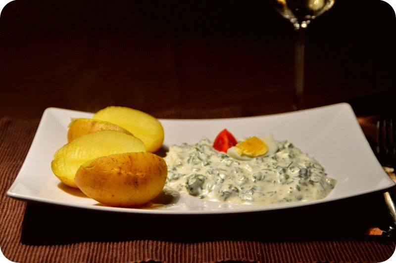 Frankfurter Grüne Soße mit Pellkartoffeln
