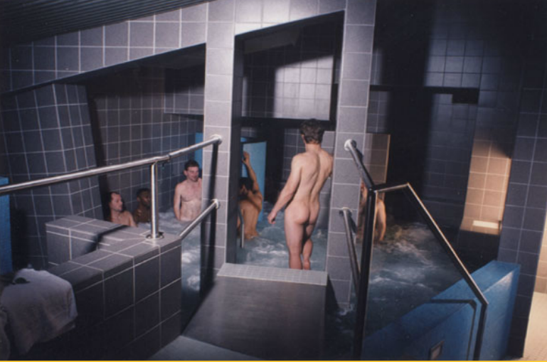 Gay Athletic Guy Travelling Europe Why I love Gay Saunas
