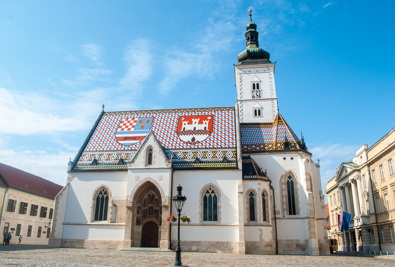 famous church in zagreb coratia