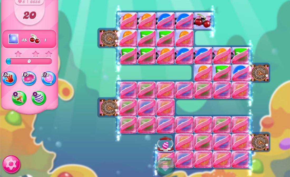 Candy Crush Saga level 6656