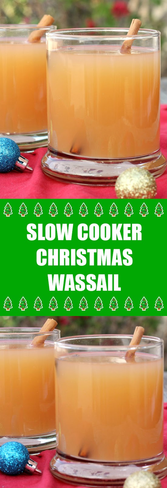 Slow Cooker Christmas Wassail