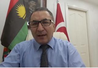Turkish Diplomat, Abdulkadir Erkahraman calls Buhari a 'crazy, idiot' says stop killing Biafrans or you'll be sorry