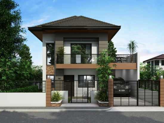Rumah Minimalis Sederhana 2 Lantai Modern