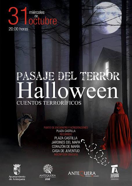 Pasaje del Terror Halloween Antequera 2018