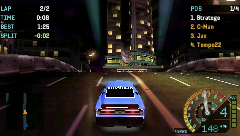 Need for Speed: Underground Rivals screenshot 2
