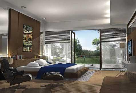 Decorations: Minimalist Design - Modern Bedroom Interior ... on Minimalist Bedroom Design Ideas  id=71955