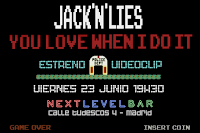 Jack 'n' Lies estrena videoclip de You love when I do it