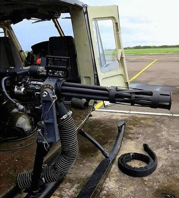 M134 Minigun TNI