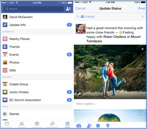 how to download facebook for iphone