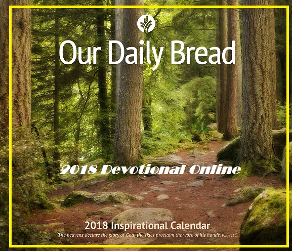 Our Daily Bread Daily Planner 2018