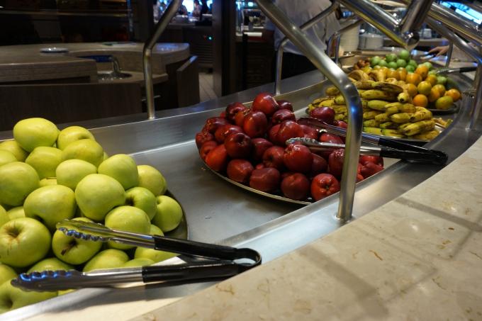 msc divina karibian risteilyn terveellinen ruoka, hedelmät