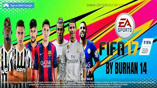 DLS 17 Mod FIFA 17 by Burhan Apk + Data Obb Android