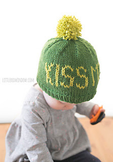 Irish hat, St. Patrick's day hat knit for toddlers