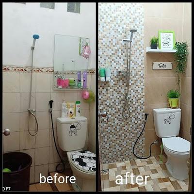Lantai kamar mandi minimalis