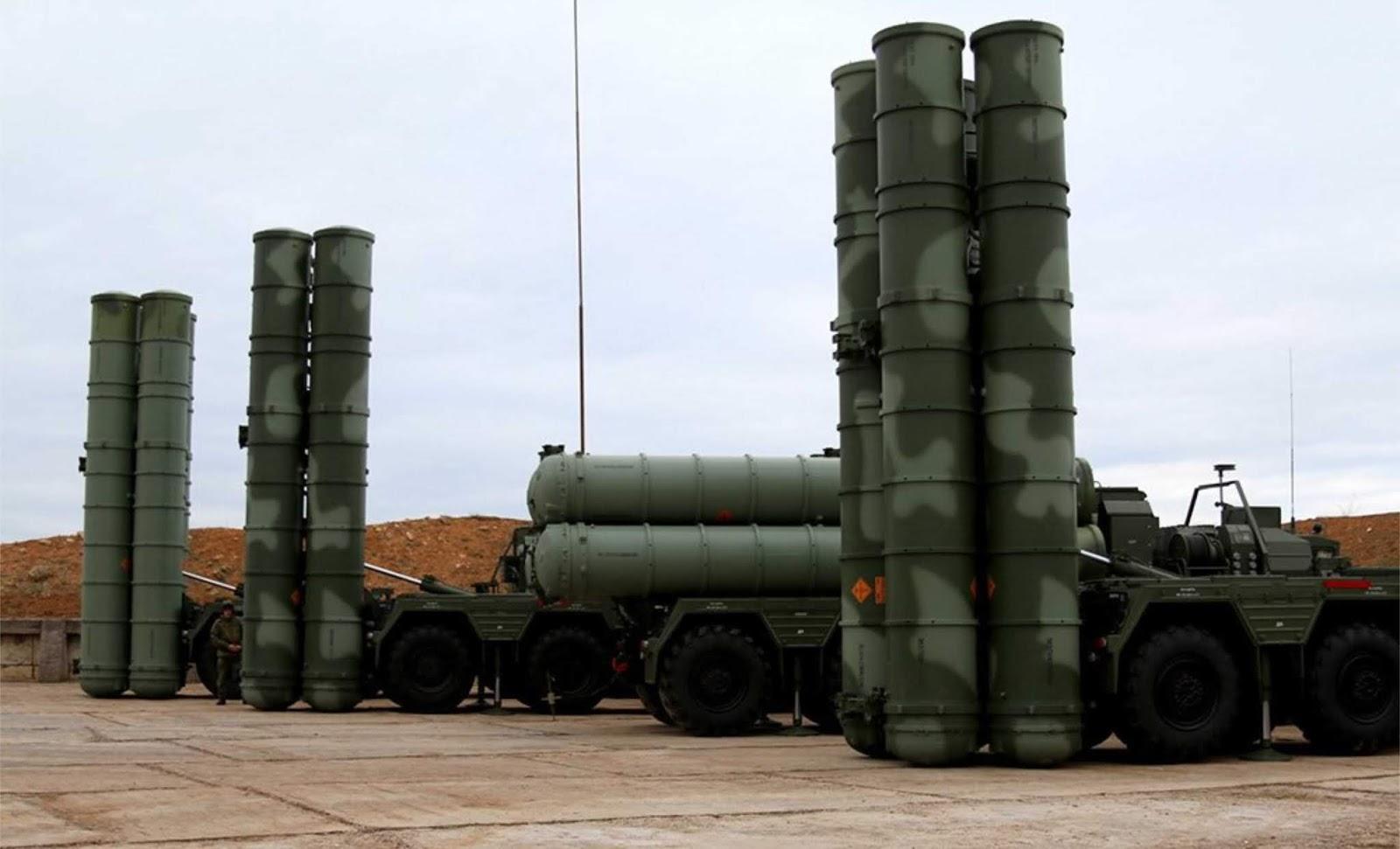 Divisi ke-4 S-400 diluncurkan di dekat perbatasan dengan Ukraina