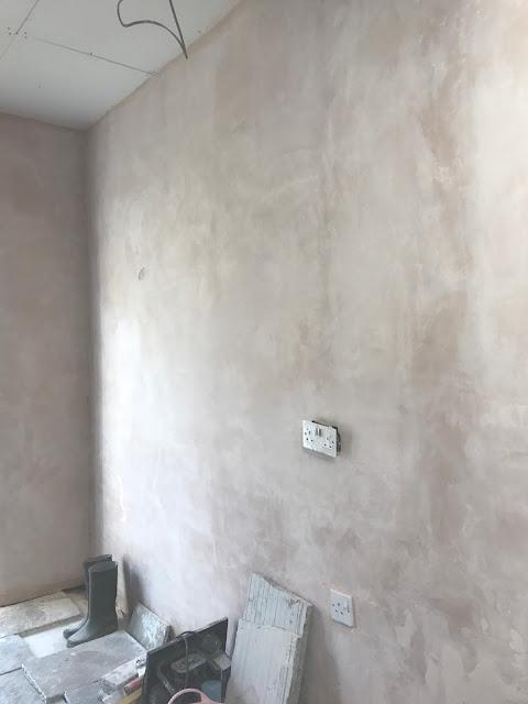 sanding plaster
