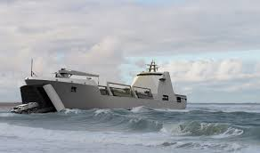 Artists depiction of the Mauritanian Navy landing ship