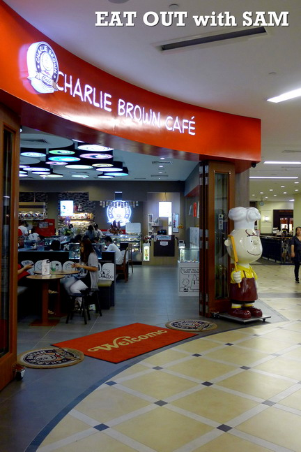 Eat Out With Sam 1st Charlie Brown Cafe Malaysia