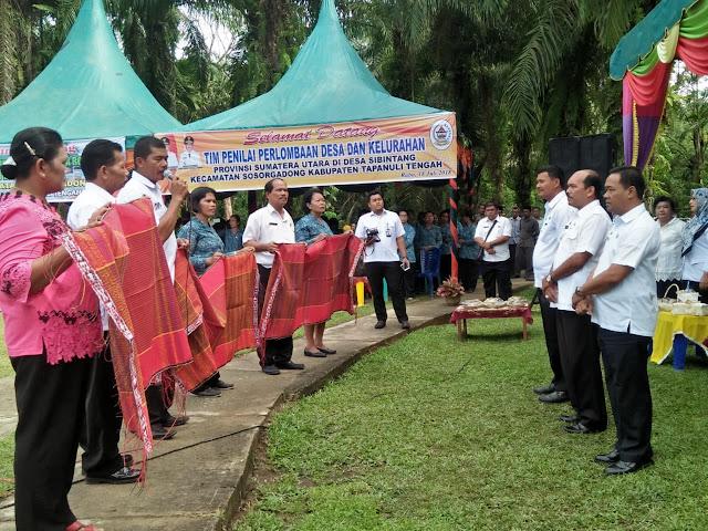 Desa Sibintang Wakili Tapteng Lomba Desa Terbaik Tingkat Sumut