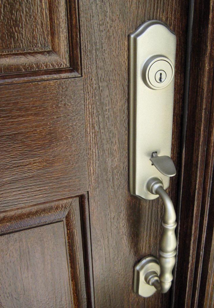 Faux Wood Doors Love Paper Paint