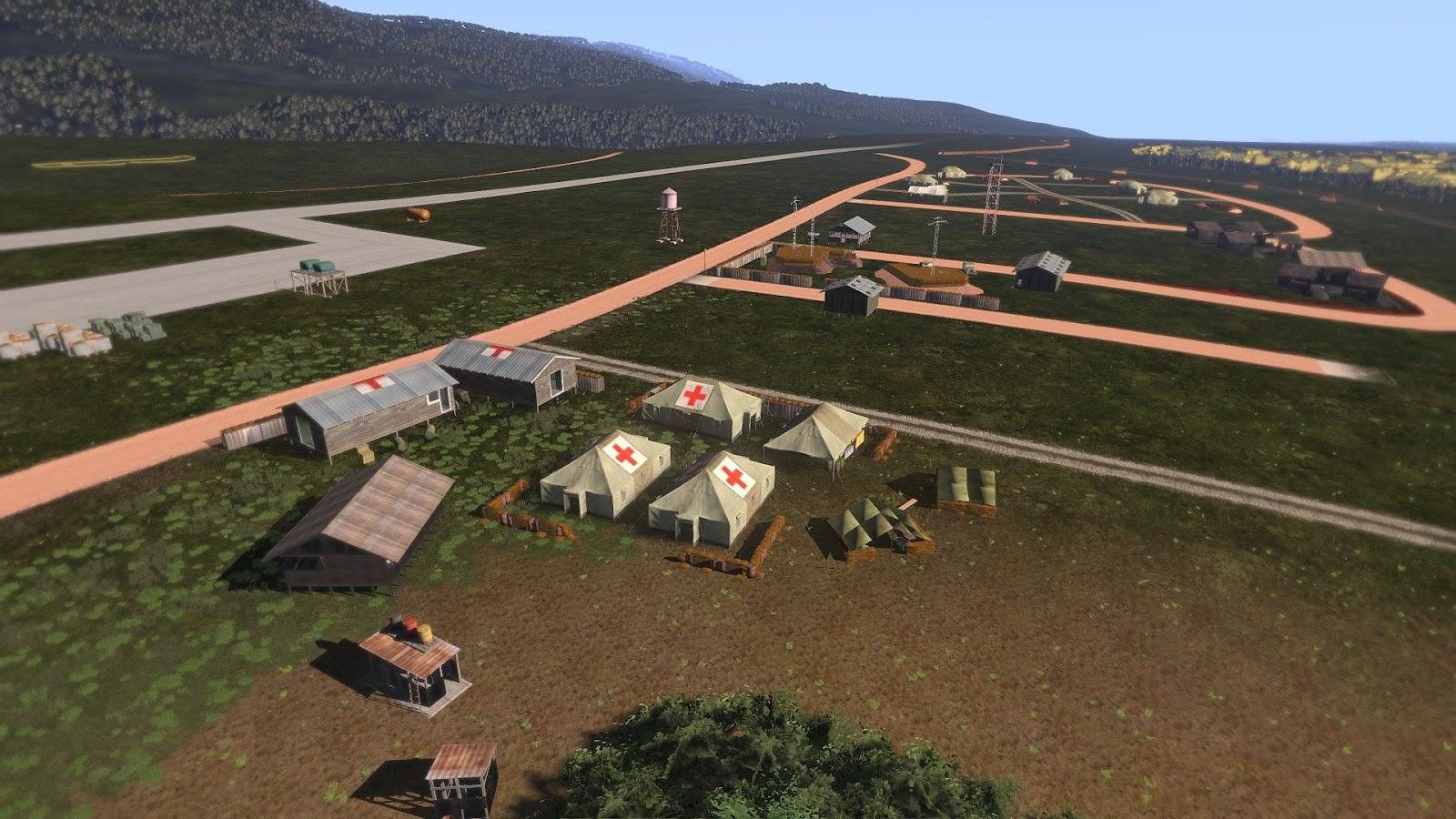 弱者の日記^^Arma 3 版のベトナム戦争 MOD で Khe Sanh マップの作製が始まる