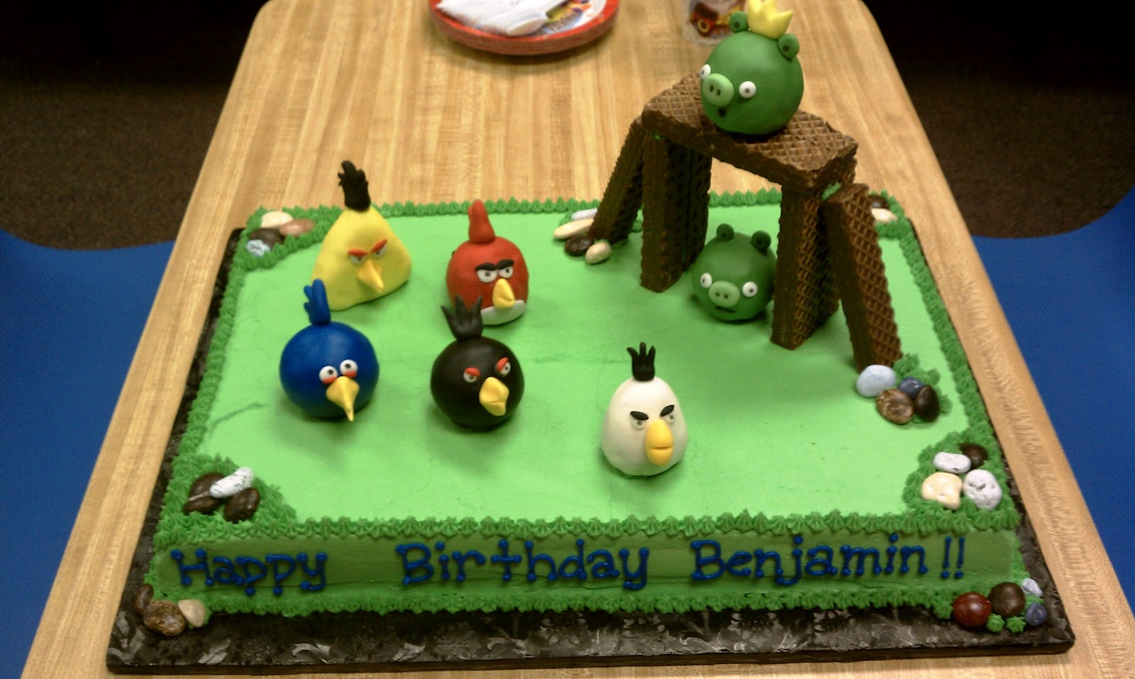 Simply Sweet Angry Birds Cake