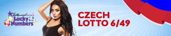 Czech Lotto 6/49 - 2 Draws - Wednesday Saturday - Hollywoodbets - Lucky Numbers