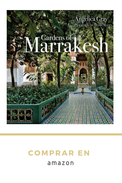 libro sobre jardines de Marrakech. Book about gardens of Marrakesch