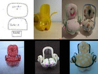 sillas para muñecas reicicladas