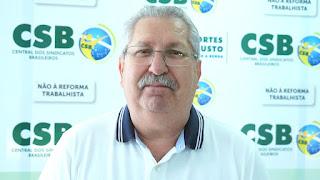 Antonio Neto convoca trabalhadores a manterem-se firmes na luta contra a reforma trabalhista