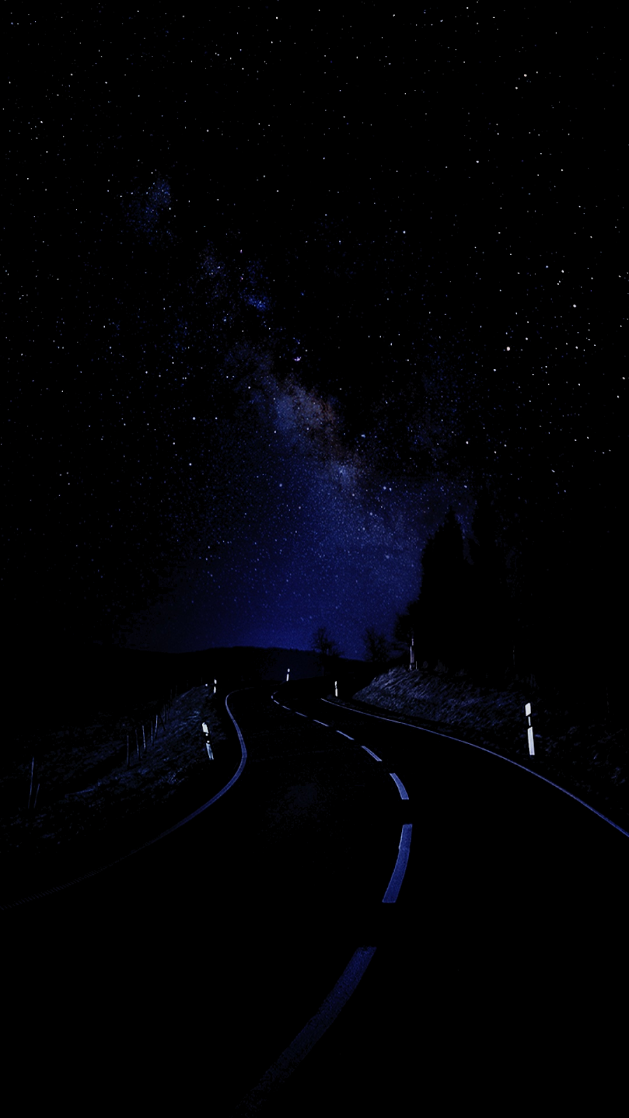 Night Street  (Saving battery for Amoled display)
