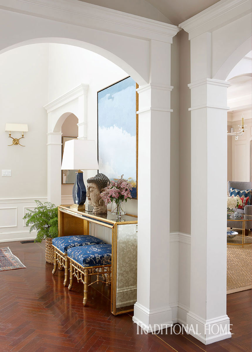 Home Interior Entrance Design Ideas: Chinoiserie Chic: The Chinoiserie Home