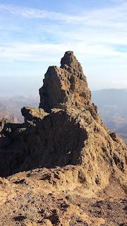 vista de pico más alto de Gran Canaria