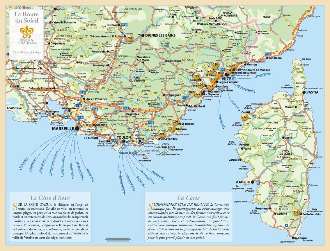 Vous Avez Cherche Harta Riviera Franceza Arts Et Voyages